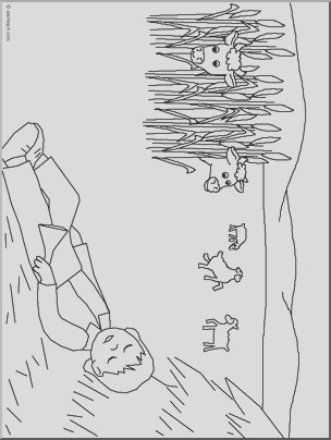 little boy blue coloring page i abcteach 9657