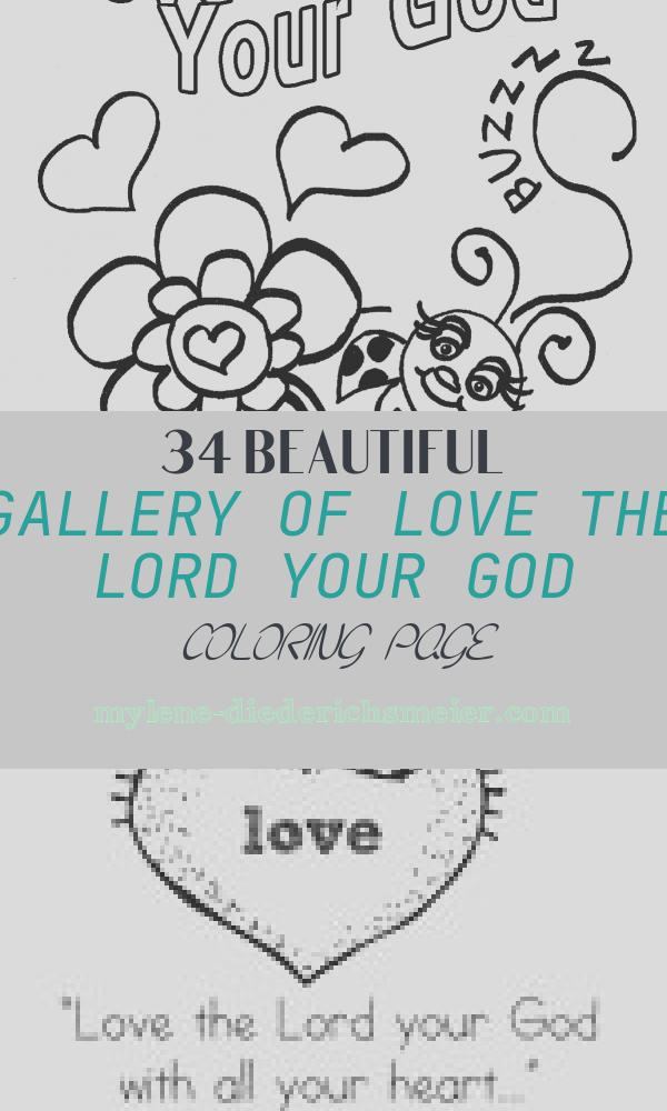 Love the Lord Your God Coloring Page Elegant Children S Gems In My Treasure Box Love Bug for Jesus