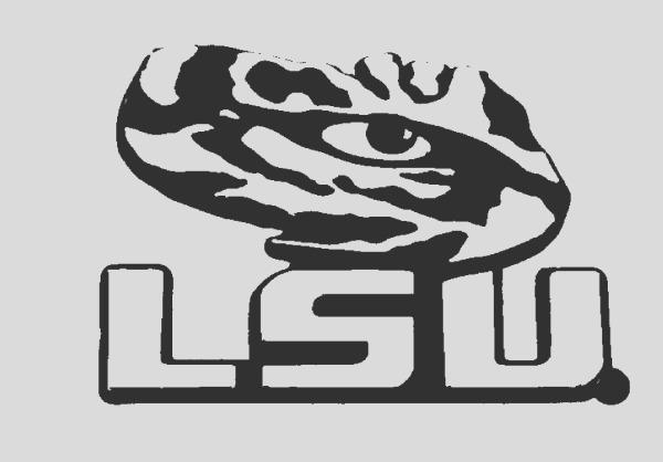 lsu logo coloring pages