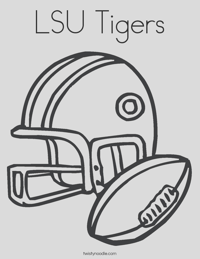 lsu tigers 7 coloring page