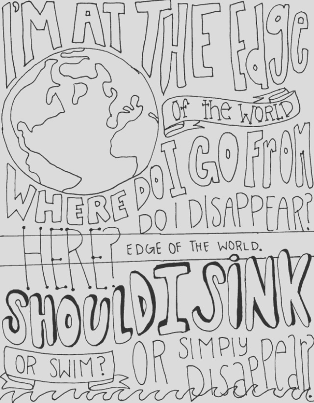 drawings of band quotes