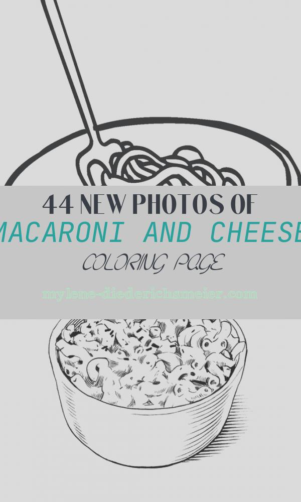 Macaroni and Cheese Coloring Page Inspirational Macaroni and Cheese Coloring Page Twisty Noodle