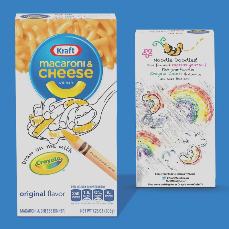 macaroni and cheese boxes
