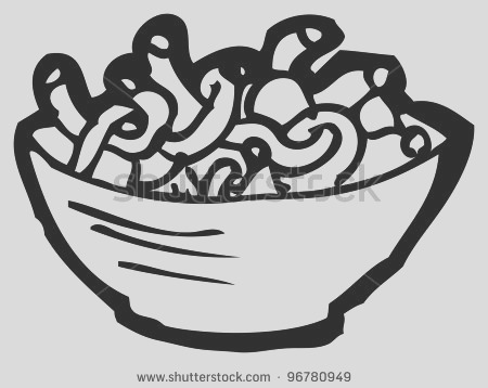 cheese noodles clipart
