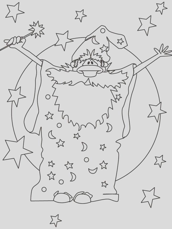 magician wizard coloring pages 1d2921