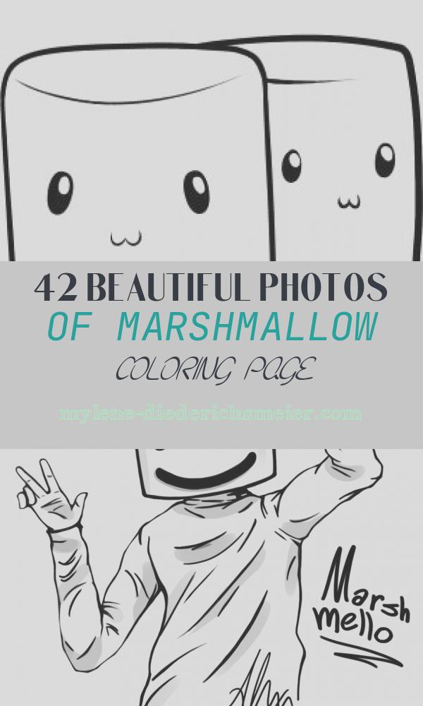 Marshmallow Coloring Page Lovely How to Draw How to Draw Marshmallows Hellokids