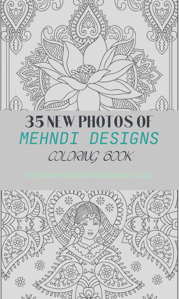 Mehndi Designs Coloring Book Lovely Wel E to Dover Publications Creative Haven Magnificent