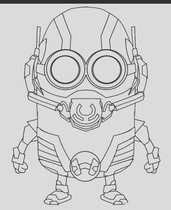 minions coloring pages 12