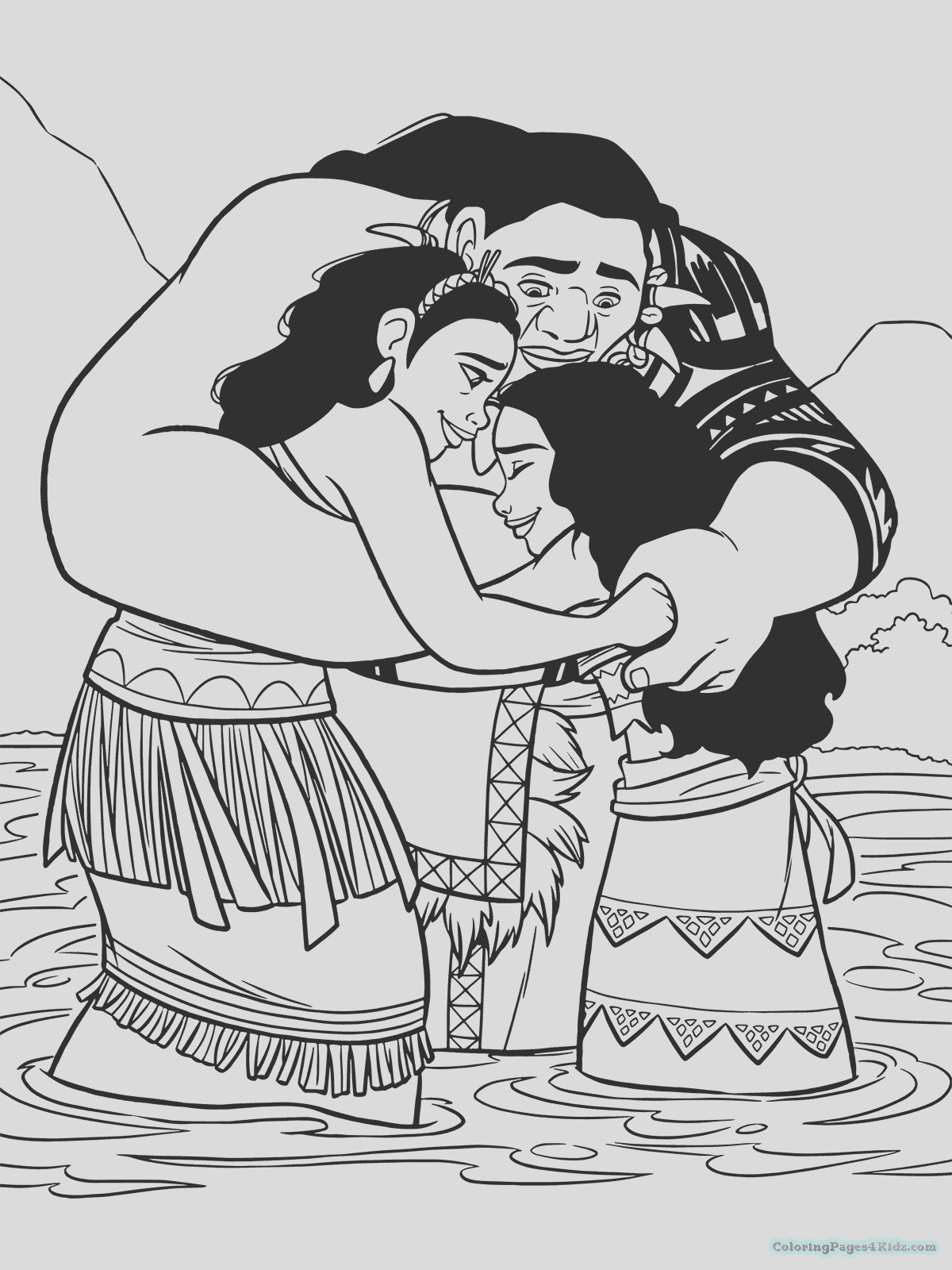 moana coloring pages 109