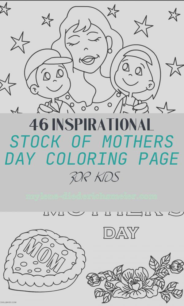 Mothers Day Coloring Page for Kids Inspirational Mother S Day Coloring Pages for Kids