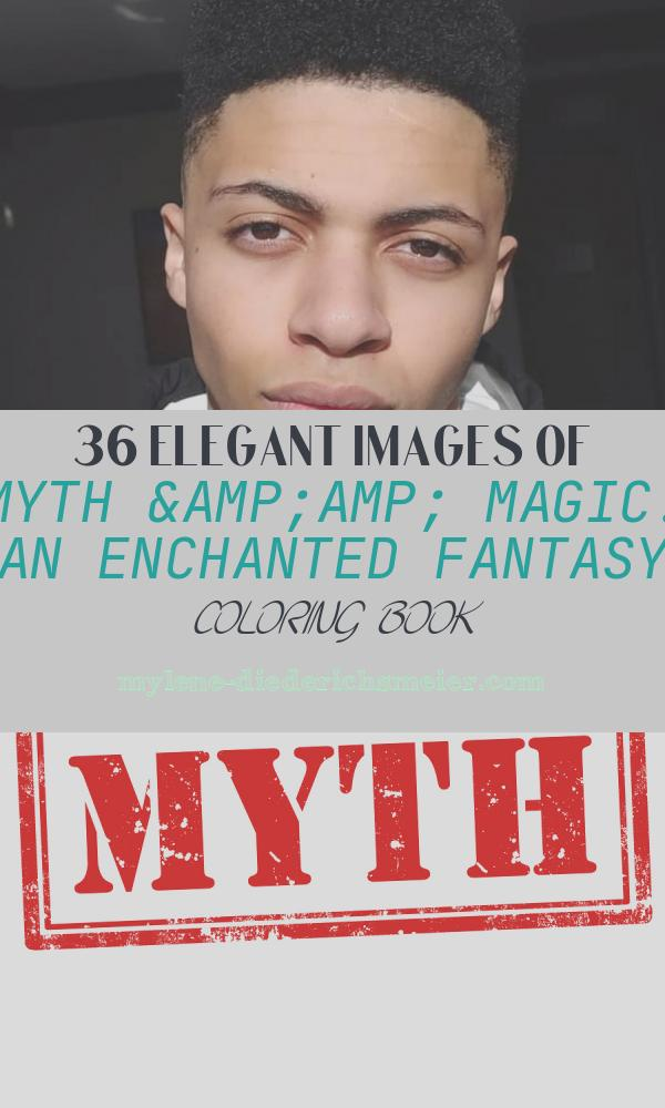 Myth & Magic: An Enchanted Fantasy Coloring Book Awesome Tsm Myth's Real Name Wiki Age Twitch and Facts