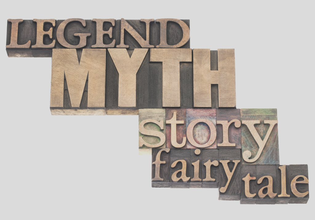 literary terms legend myth and fairy tale