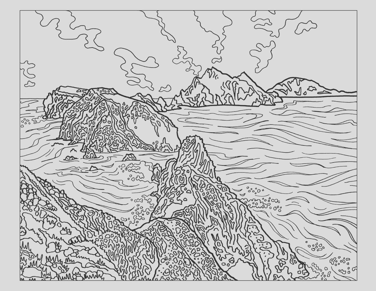 the sierra club national parks coloring book p313