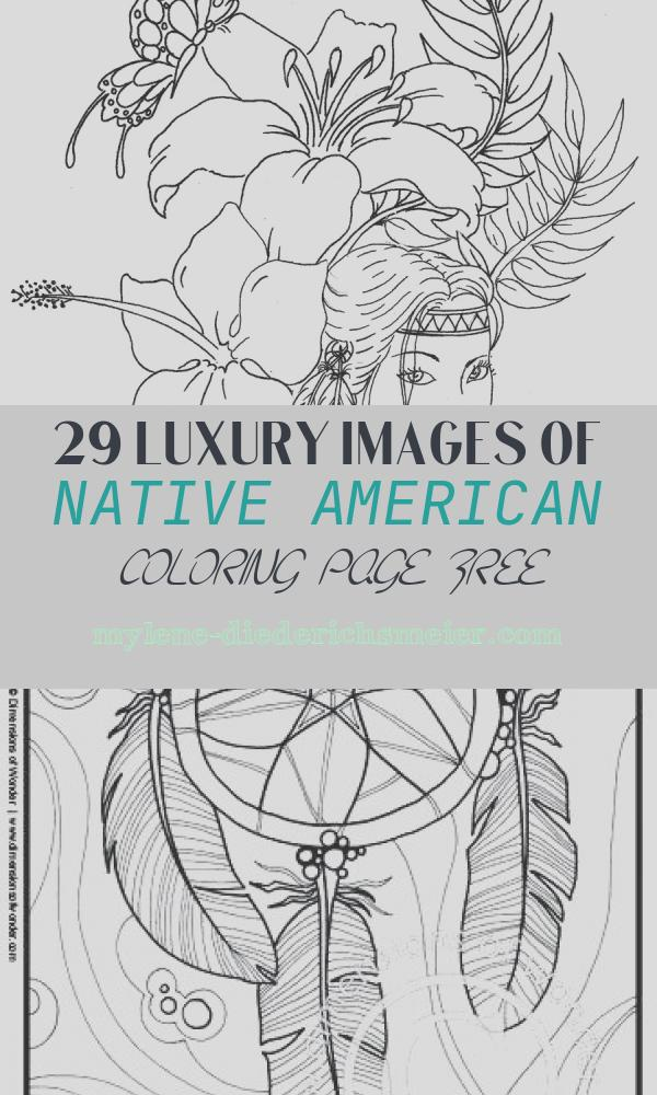 Native American Coloring Page Free Inspirational Native American Coloring Pages Printable