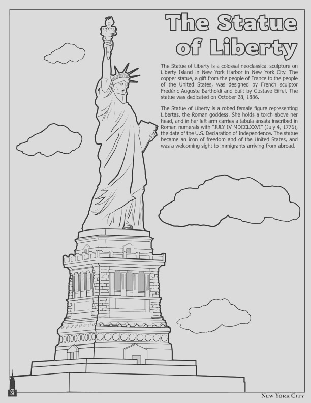 new york city coloring book