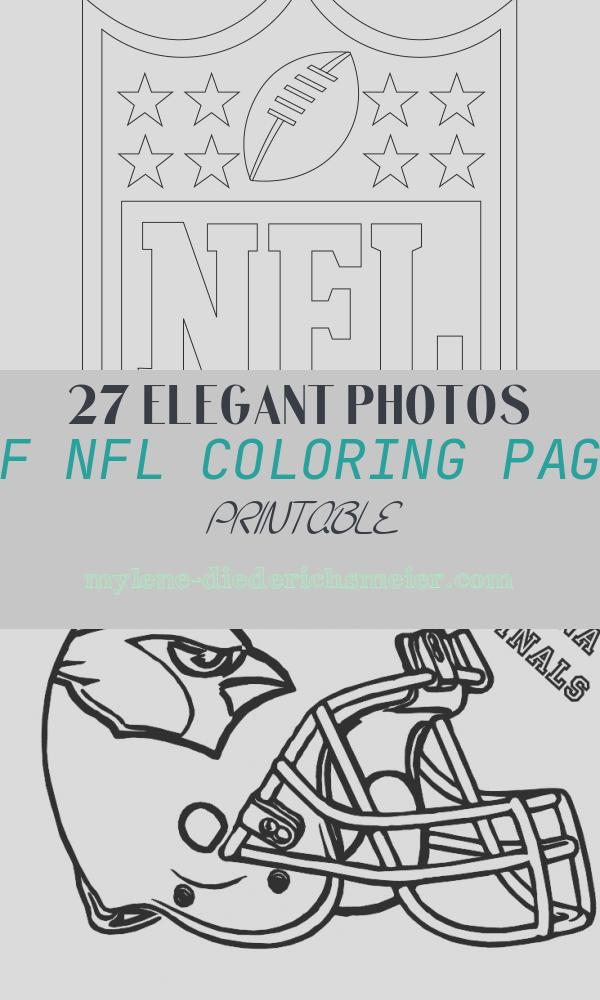 Nfl Coloring Page Printable Beautiful Nfl Logo Coloring Page