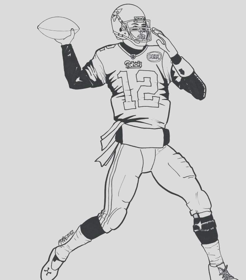 nfl logo coloring pages printable