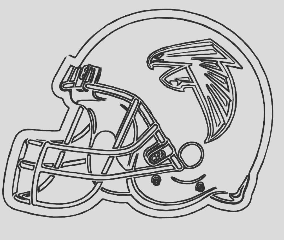 football helmet nfl coloring pages for boys printable
