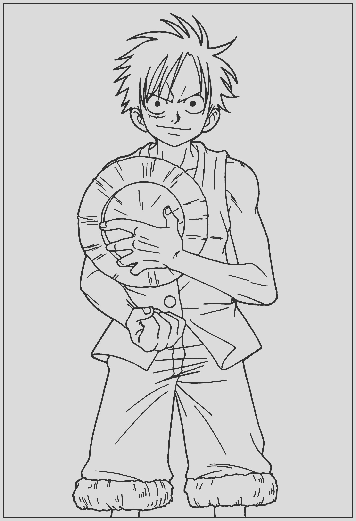image=one piece coloring pages for children one piece 1
