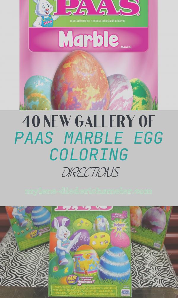 Paas Marble Egg Coloring Directions Fresh Paas Marble Egg Dye Kit Seasonal Easter Decorations
