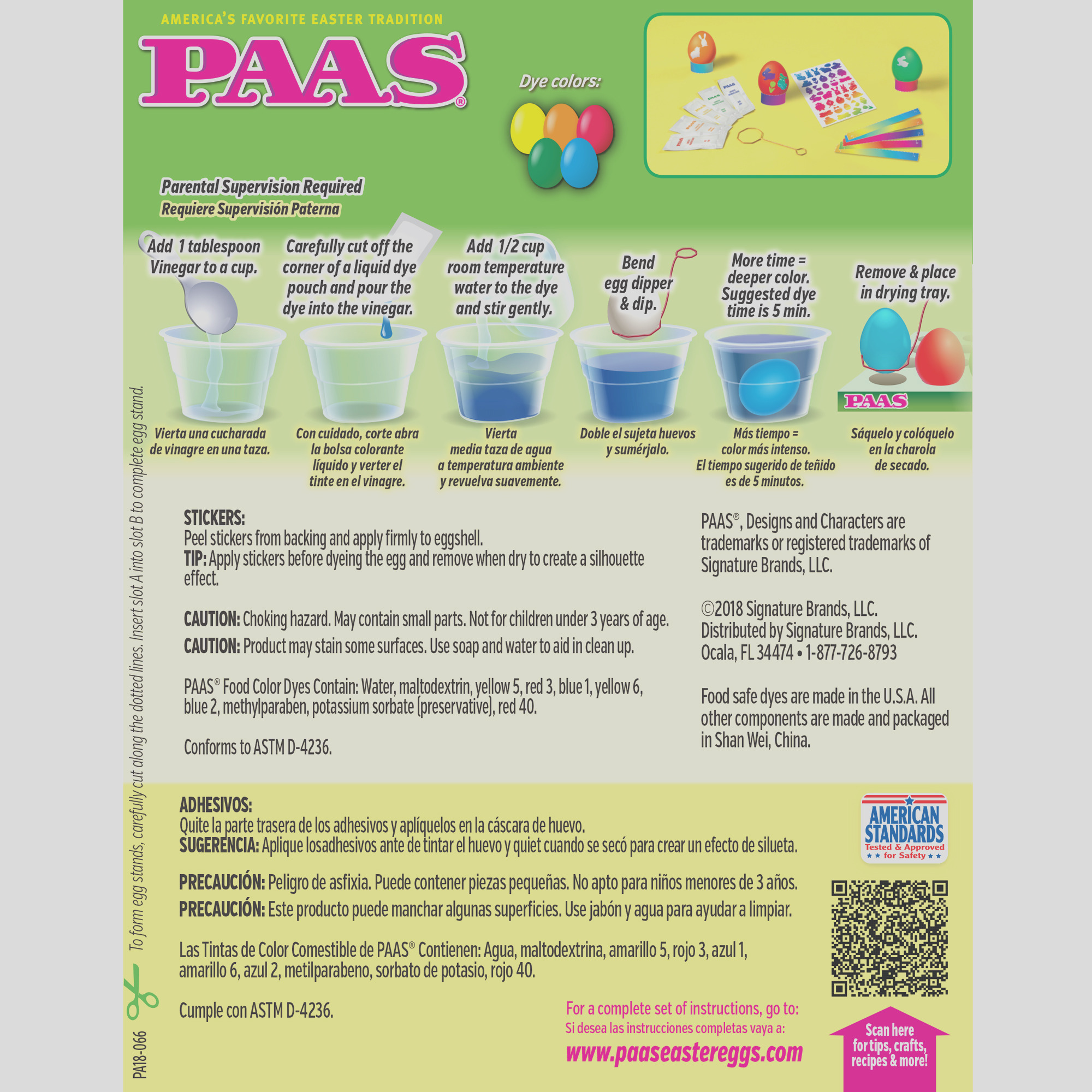 paas easter egg decorating kit instructions