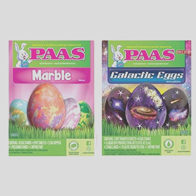 paas marble and galaxy egg easter egg dye kit top selling