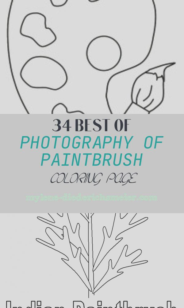 Paintbrush Coloring Page Elegant Back to School Coloring Pages