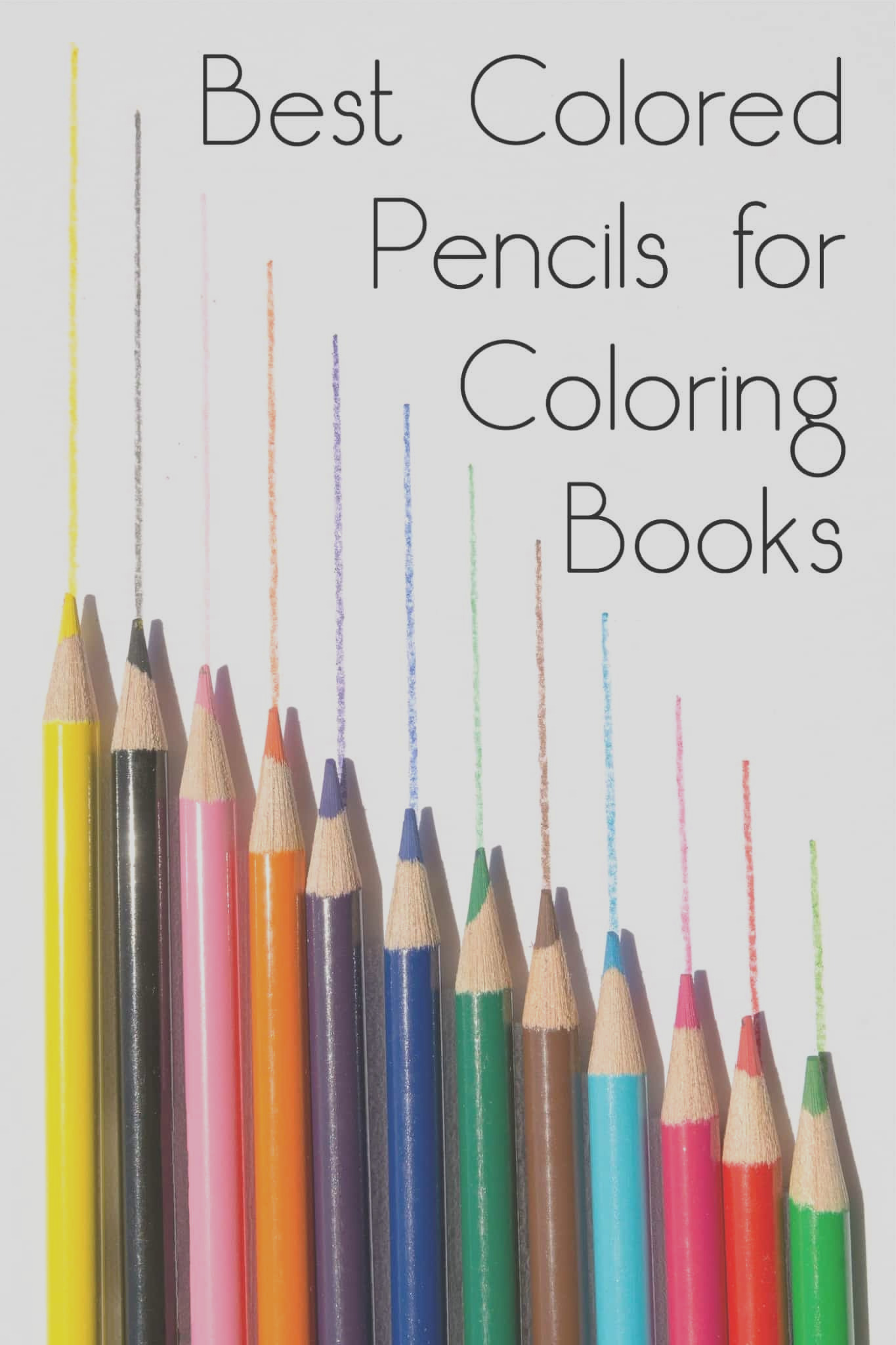 best colored pencils coloring books