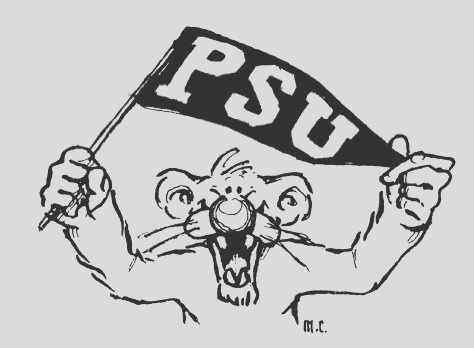 nittany lion of penn state coloring page sketch templates