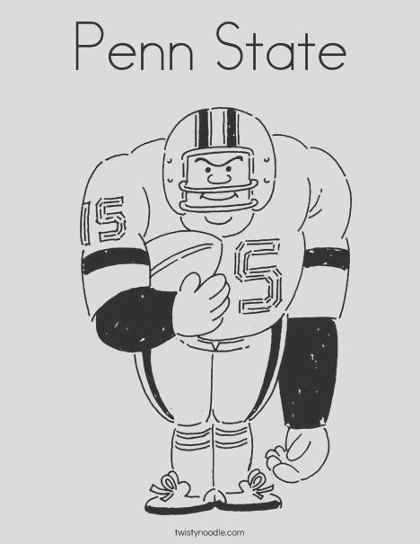 penn state 3 coloring page
