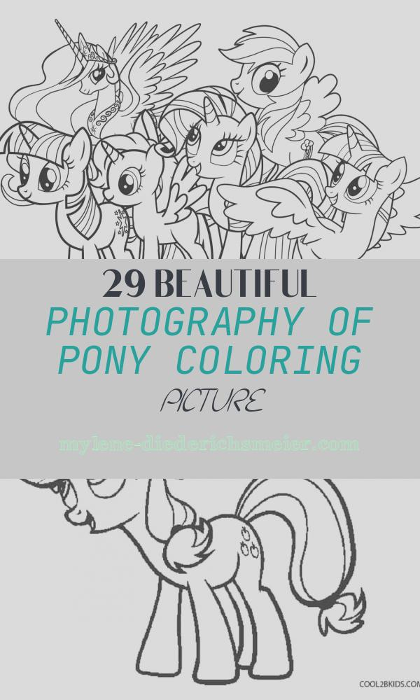 Pony Coloring Picture New Free Printable My Little Pony Coloring Pages for Kids