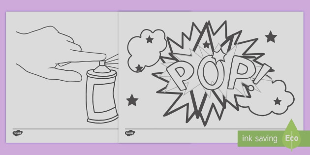 t ad 153 roy lichtenstein inspired colouring pages