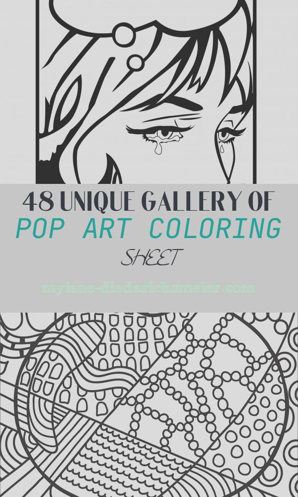 Pop Art Coloring Sheet Luxury Pop Art Coloring Page Art Projects for Kids