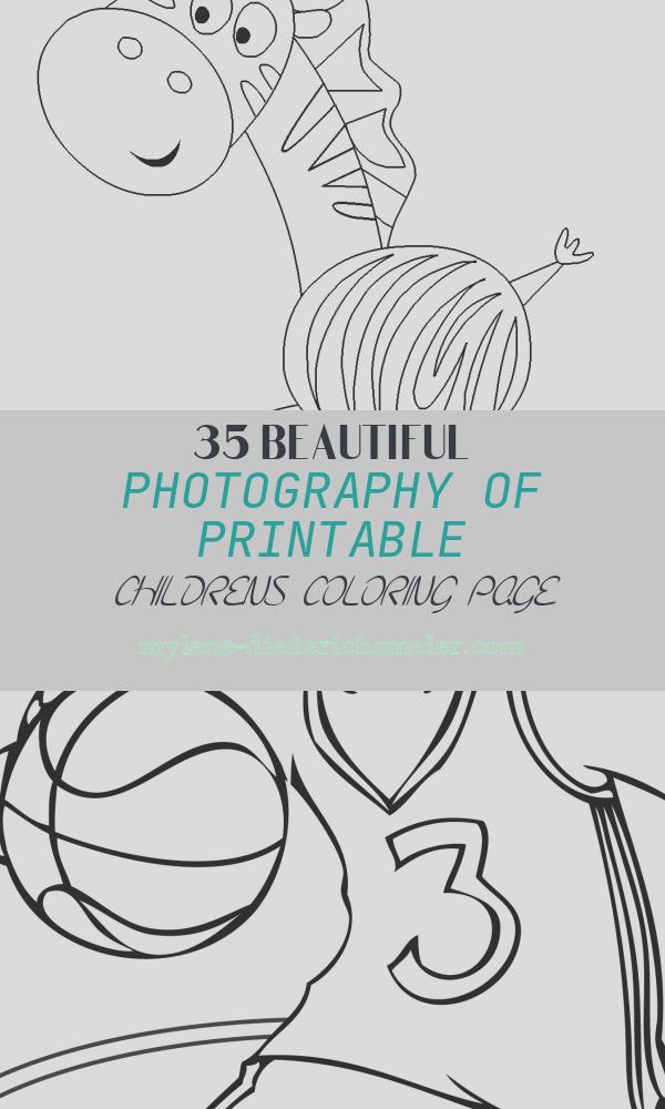 Printable Childrens Coloring Page Beautiful Printable Coloring Pages for Kids