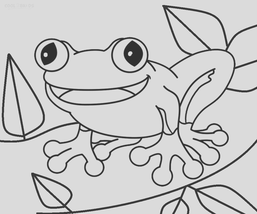 toad coloring pages