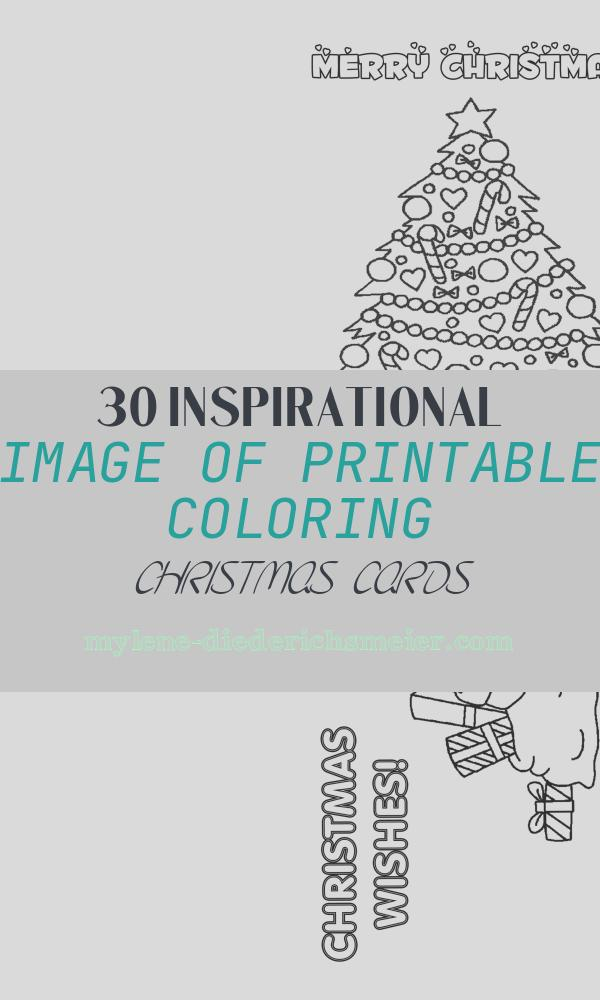 Printable Coloring Christmas Cards Elegant How to Make Printable Christmas Cards for Kids to Color