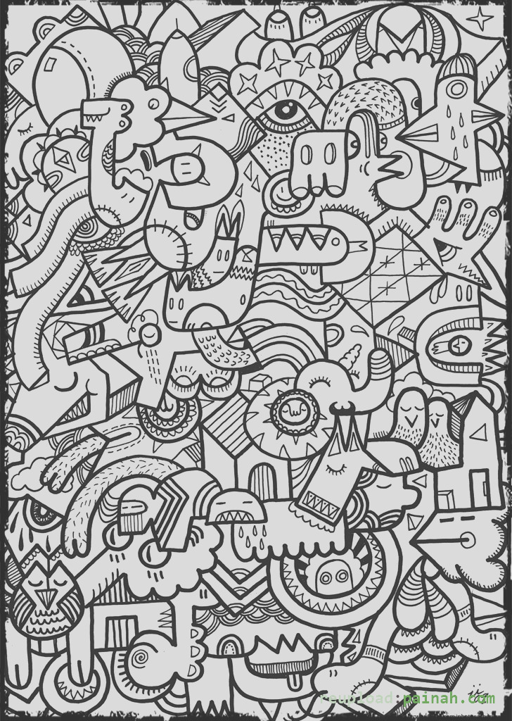 coloring pages for teenagers to print