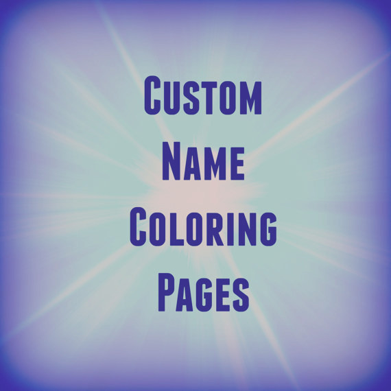31 printable name coloring pages color