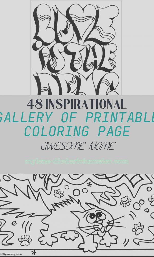 Printable Coloring Page Awesome Name Inspirational Personalized Name Coloring Pages at Getcolorings