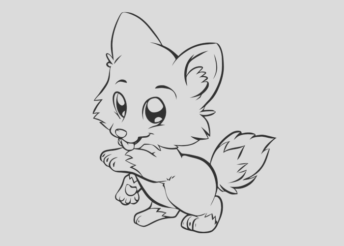 cartoon puppy coloring pages