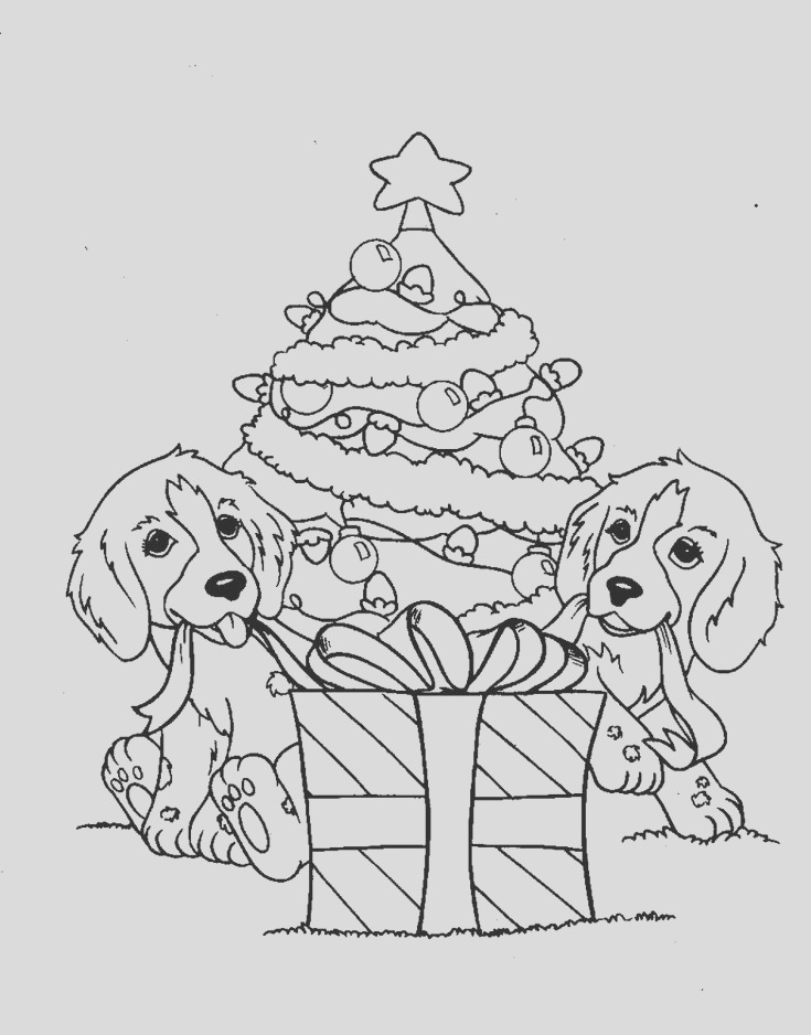 christmas adults coloring pages