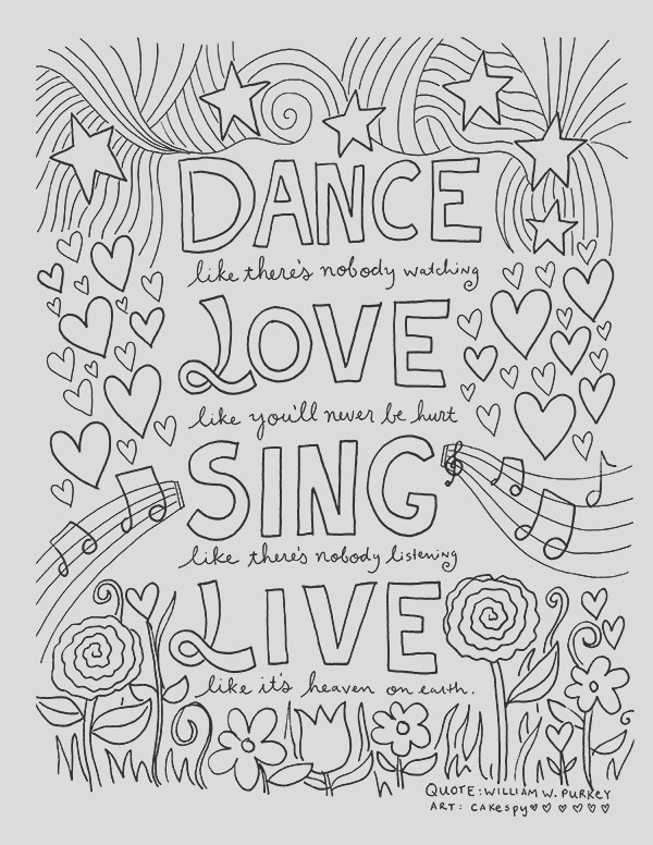 recovery coloring pages