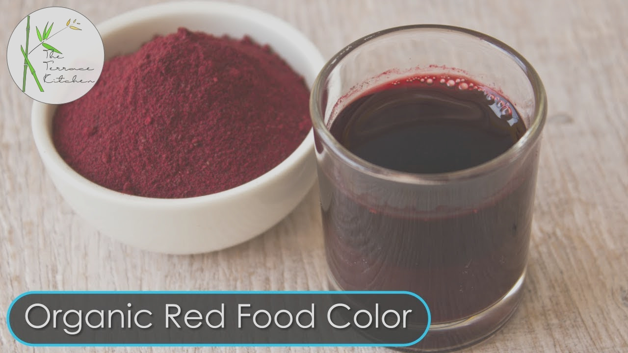 100 natural homemade red food color recipe