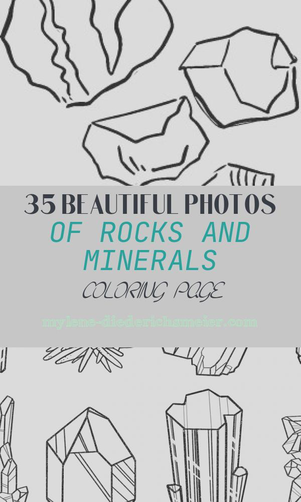 Rocks and Minerals Coloring Page Luxury Pin by Bert Piedmont On Rocks & Shells for Mike