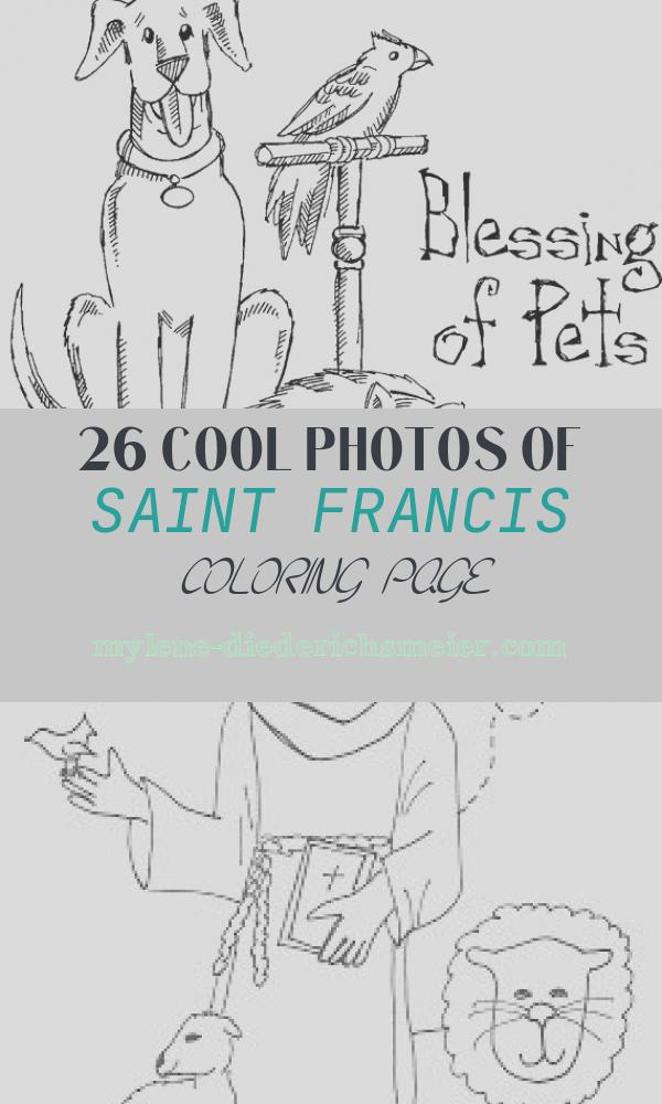 Saint Francis Coloring Page New St Francis Of assisi Coloring Pages for Catholic Kids