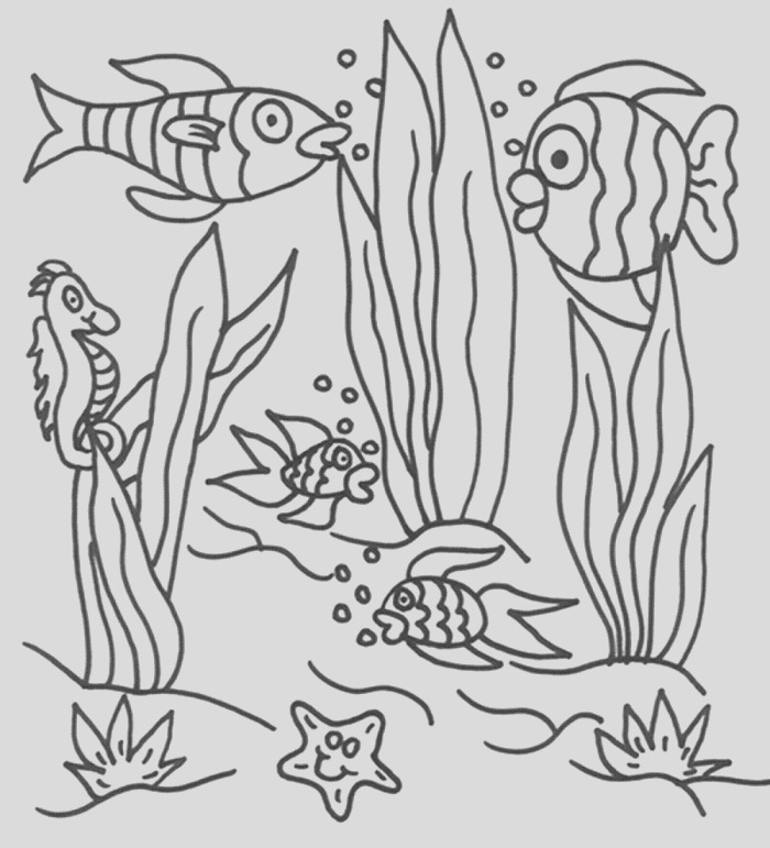 free scenery coloring pages to print