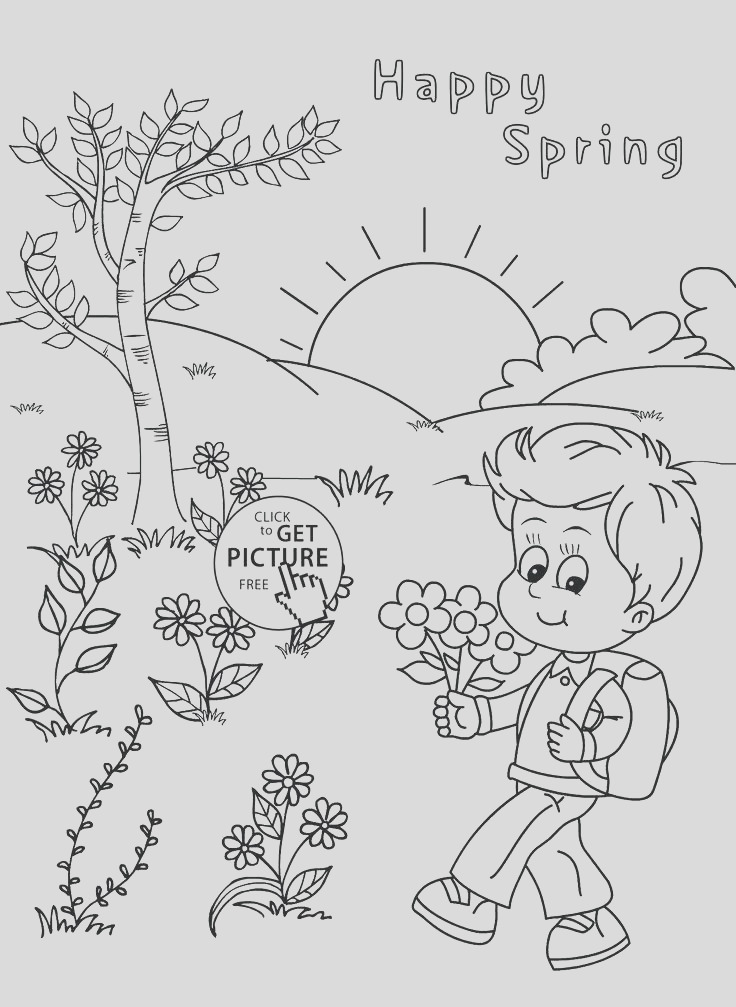 coloring pages four seasons