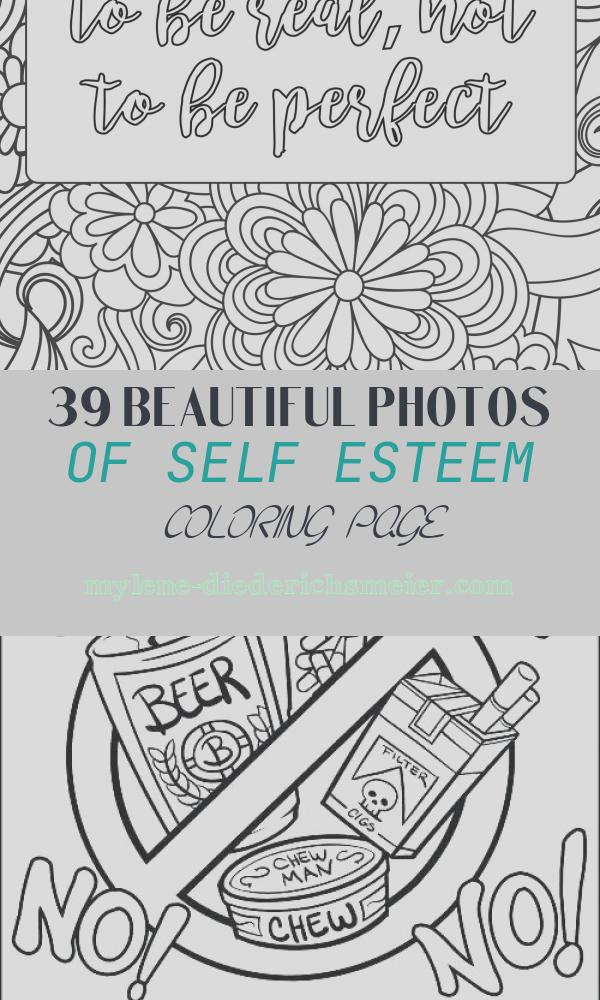 Self Esteem Coloring Page Awesome Positive Affirmations are so Important for Building Self