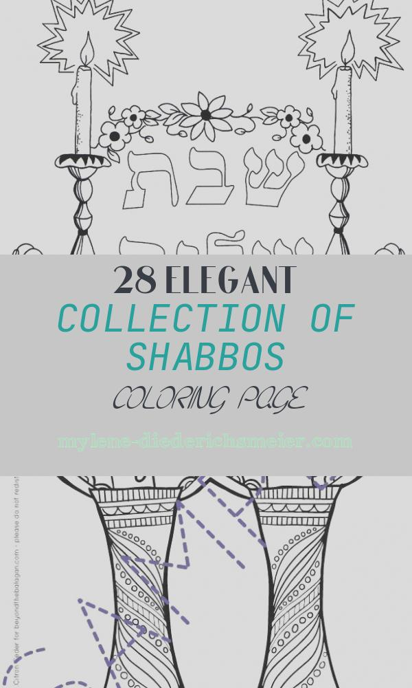 Shabbos Coloring Page Luxury Shabbos Colouring Pages Shabbat