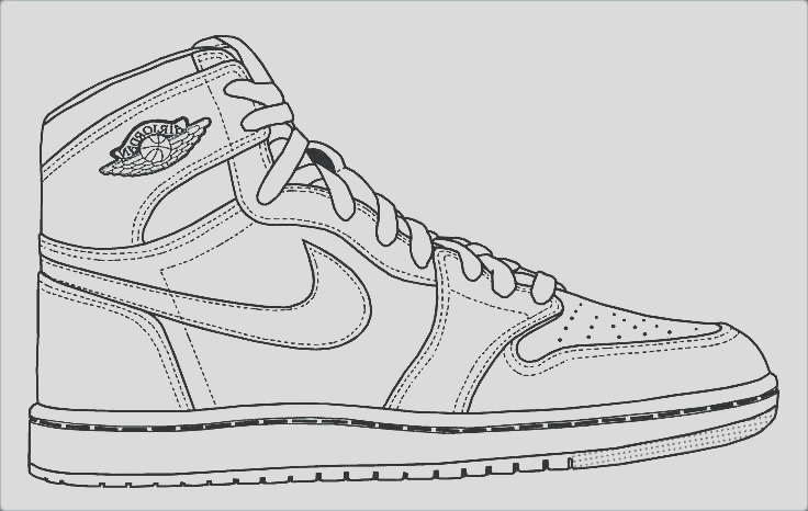 kd shoes coloring pages